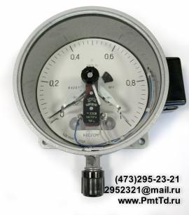 Электроконтактный манометр ЭКМ-1У 0-10 кгс/см2