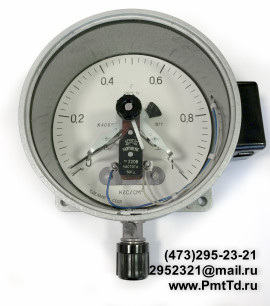 Электроконтактный манометр ЭКМ-1У 0-250 кгс/см2