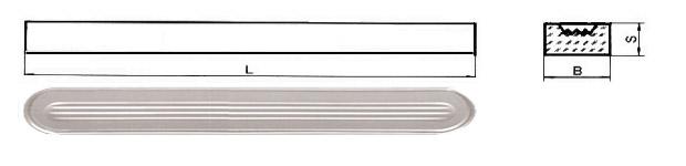 Стекла водоуказательные (стекла для указателей уровня жидкости) Стекло Клингера