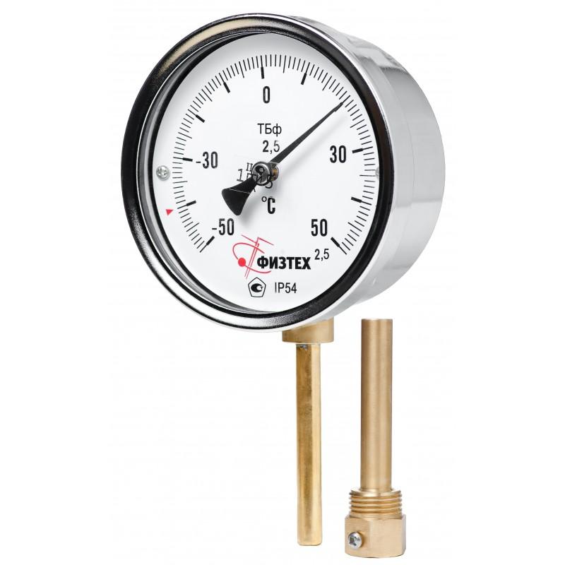 термометры показывающие бимиталические на складе в Воронеже в наличии